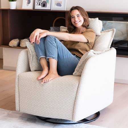 Nadia Armchair from Fama